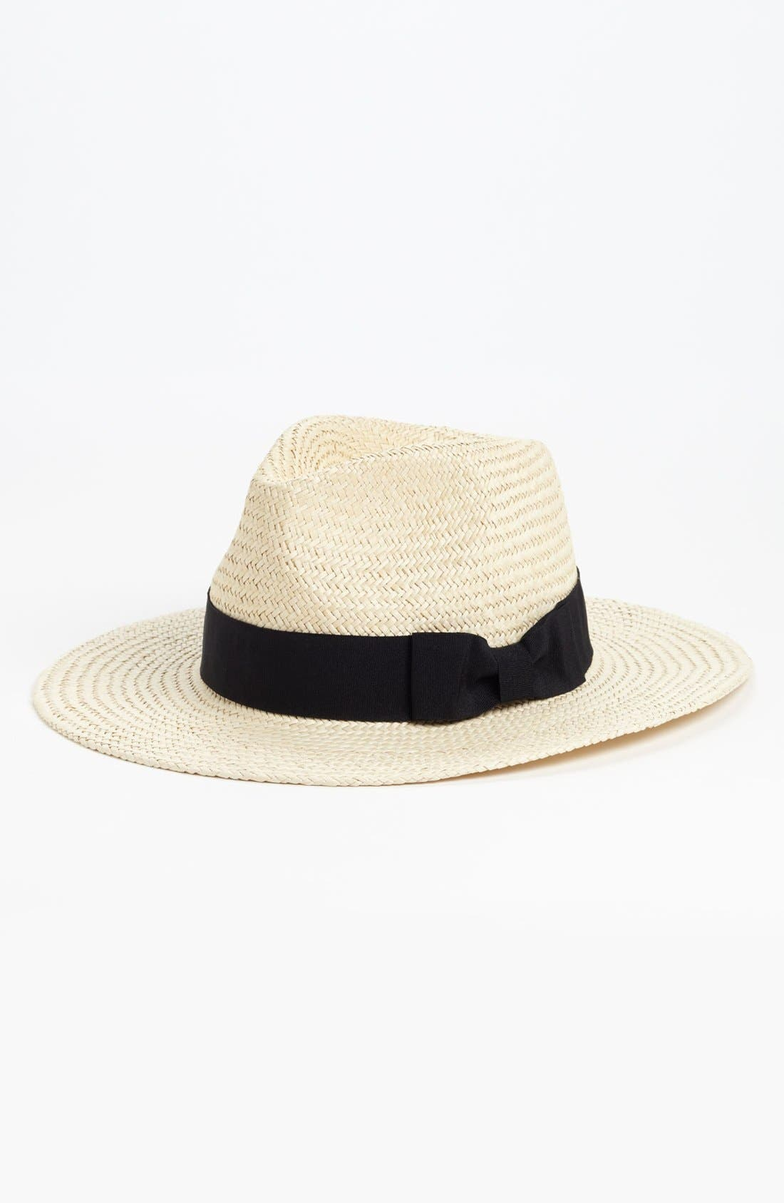Main Image - Trouvé Straw Panama Hat