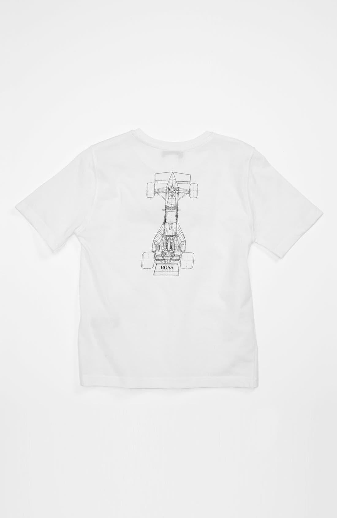 Alternate Image 2  - BOSS Kidswear 'Race Car' T-Shirt (Little Boys & Big Boys)