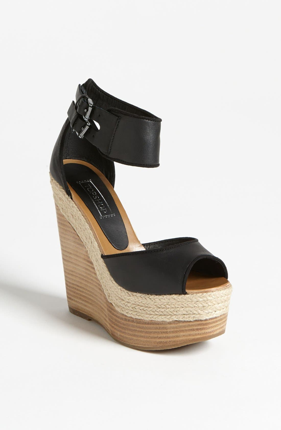 Alternate Image 1 Selected - Topshop 'Whirlwind' Wedge Sandal