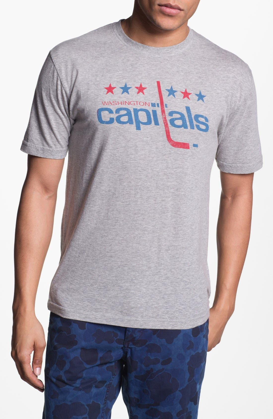 Alternate Image 1 Selected - Red Jacket 'Capitals - Brass Tack' T-Shirt