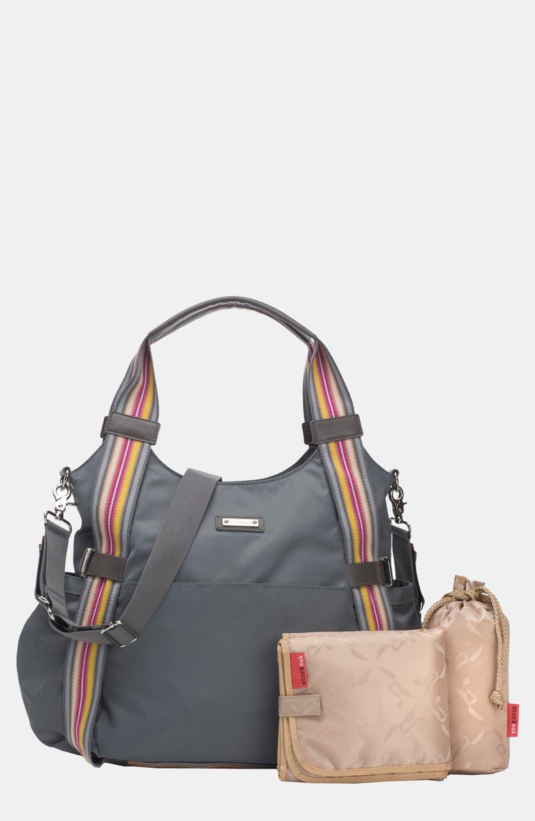 Alternate Image 3  - Storksak 'Tania' Diaper Bag