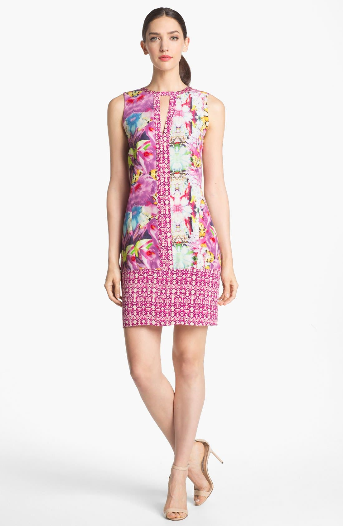 Alternate Image 1 Selected - Rachel Roy Silk Shift Dress