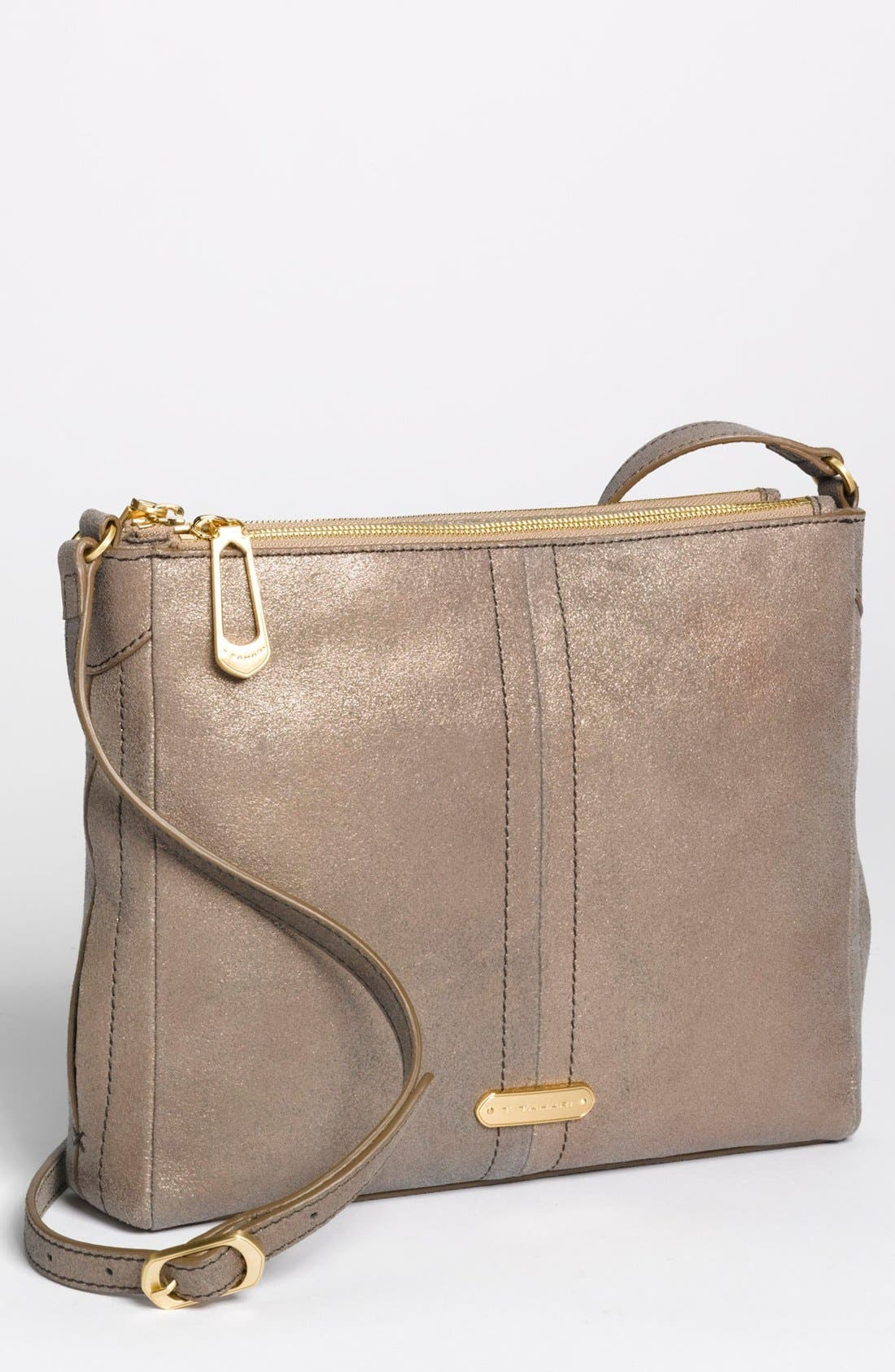 Main Image - T Tahari Double Zip Crossbody Bag, Small