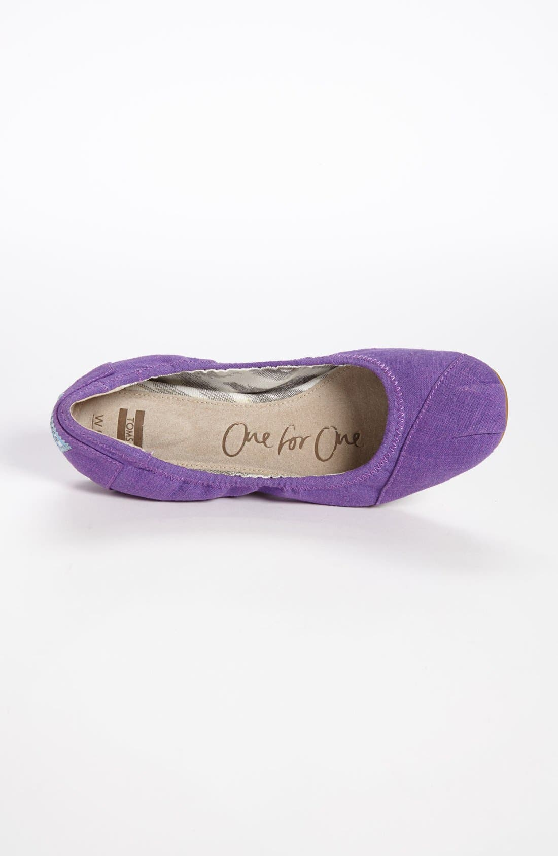 Alternate Image 3  - TOMS Ballet Flat (Women)