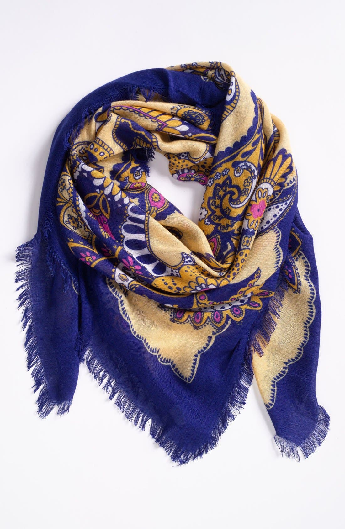 Alternate Image 1 Selected - Hinge® 'Desert Paisley' Scarf