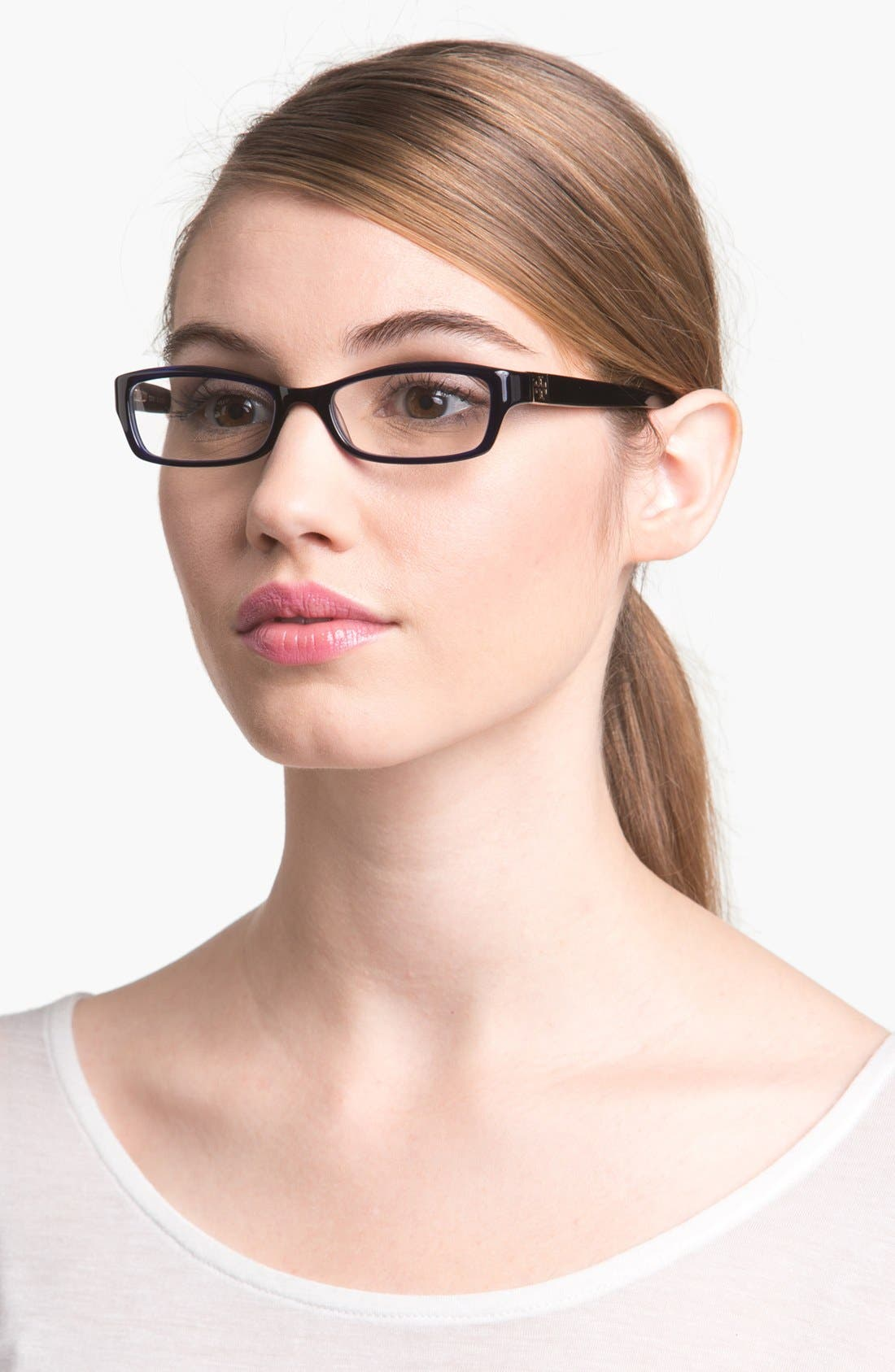 Alternate Image 1 Selected - Tory Burch 49mm Optical Glasses (Online Only)