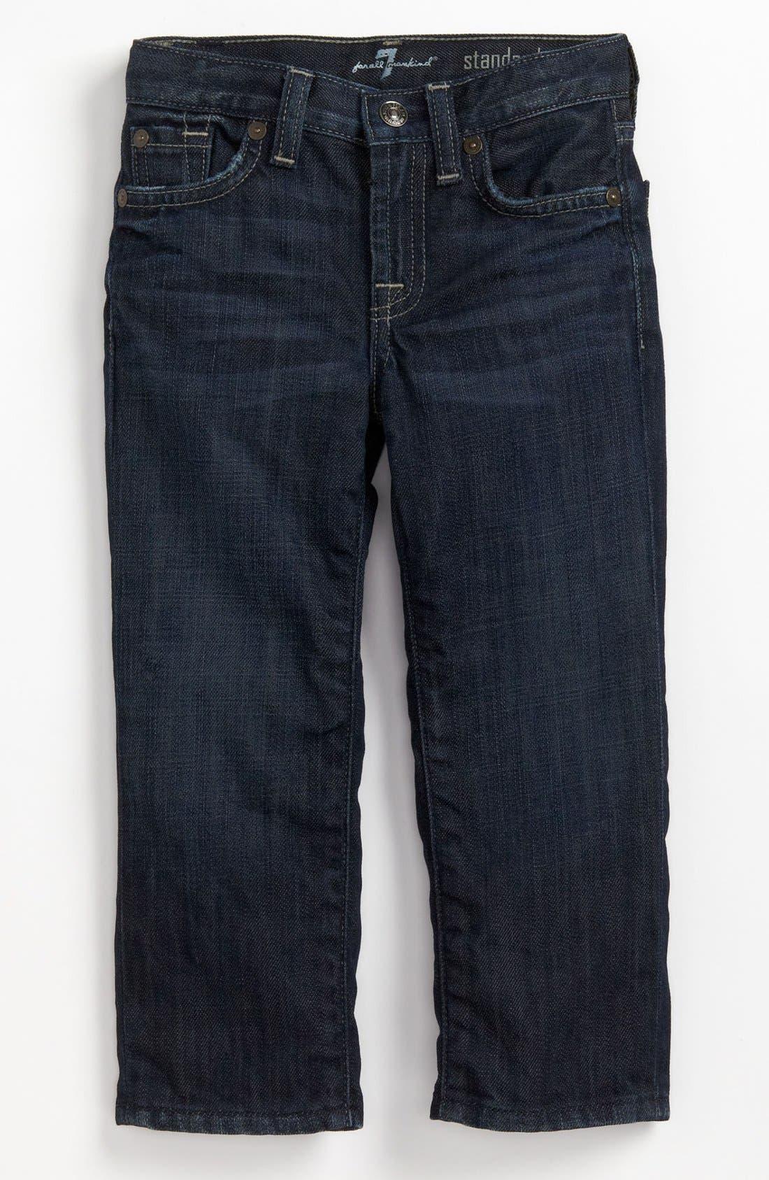 Alternate Image 2  - 7 For All Mankind® 'Standard' Straight Leg Jeans (Toddler Boys) (Online Only)