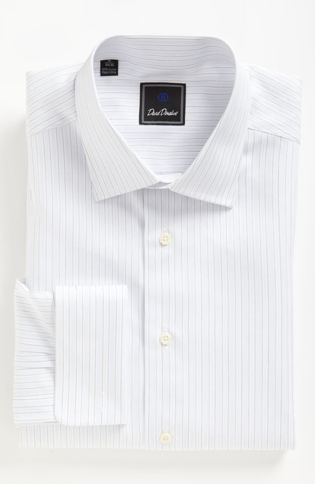Alternate Image 1 Selected - David Donahue Dress Shirt & Tie