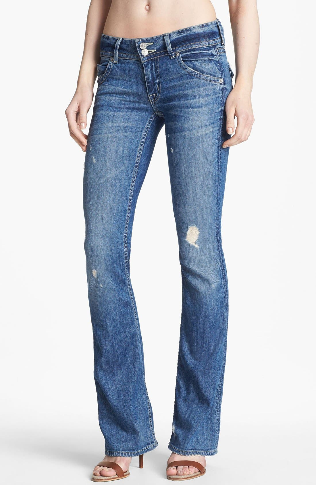 Main Image - Hudson Jeans Signature Bootcut Jeans (Indie)