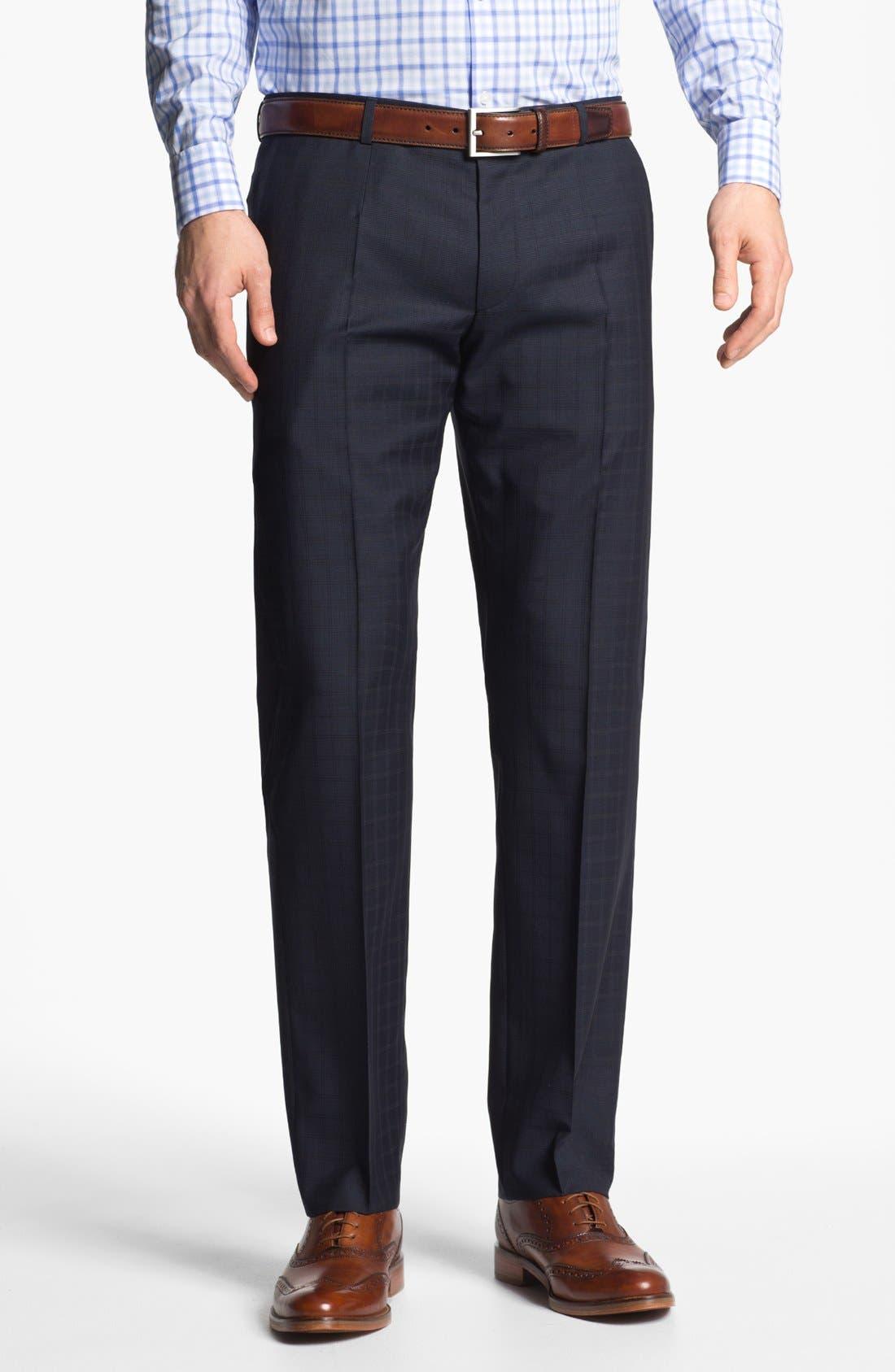 Alternate Image 5  - HUGO 'Amaro/Heise' Trim Fit Check Suit