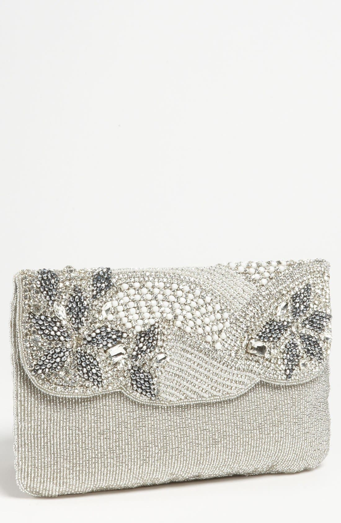 Alternate Image 1 Selected - Micky London Handbags Beaded Envelope Clutch