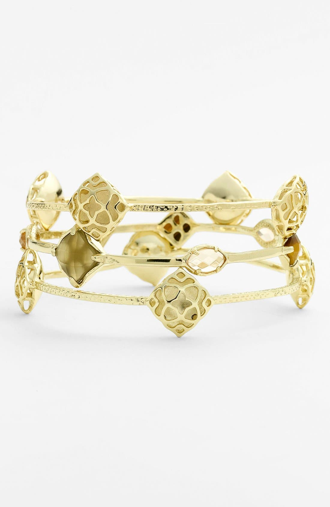 Main Image - Kendra Scott 'Island Escapade - Marty' Station Bangles (Set of 3) (Nordstrom Exclusive)