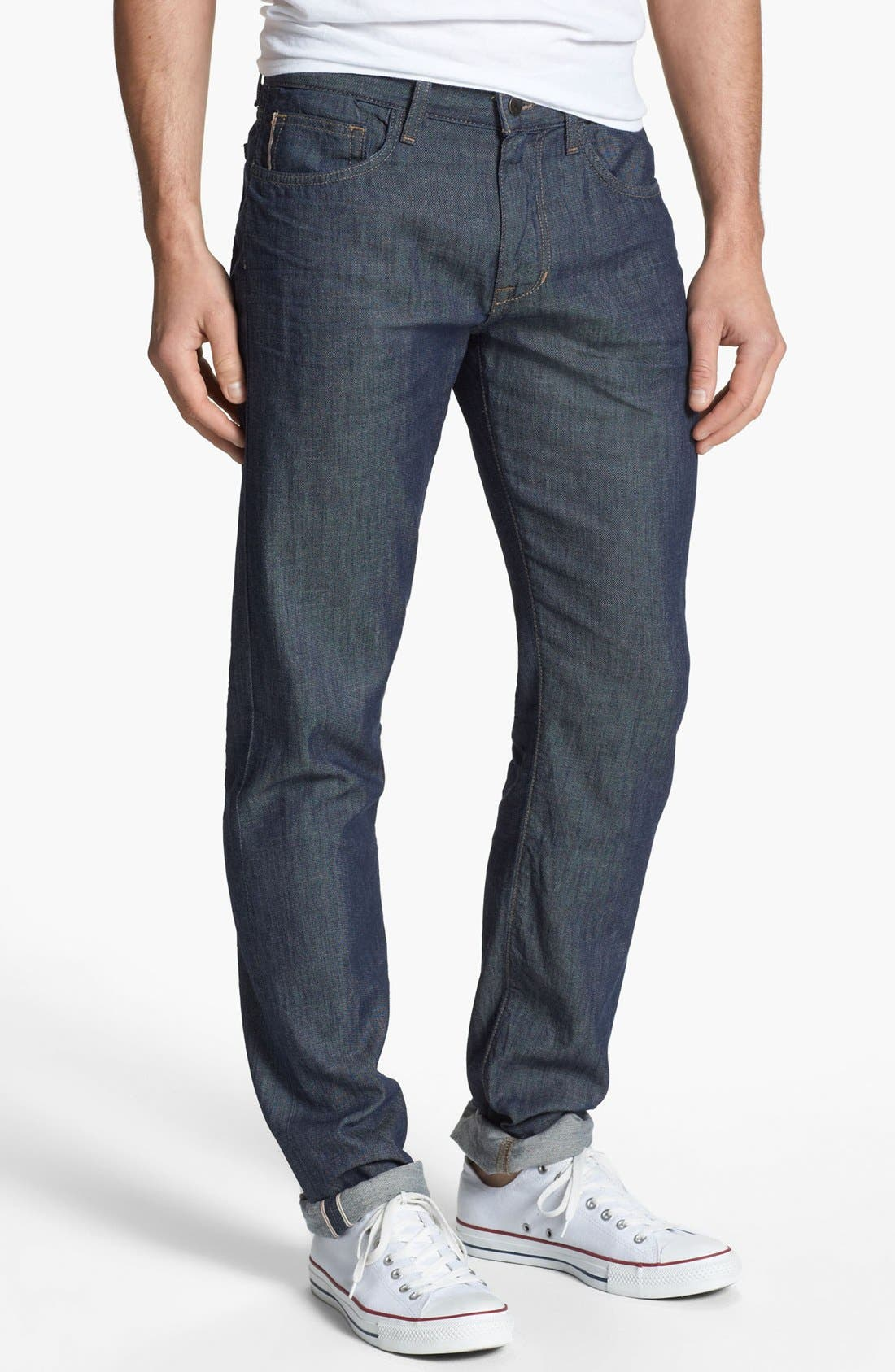 Alternate Image 2  - Joe's 'Brixton' Slim Fit Selvedge Jeans (Laures)
