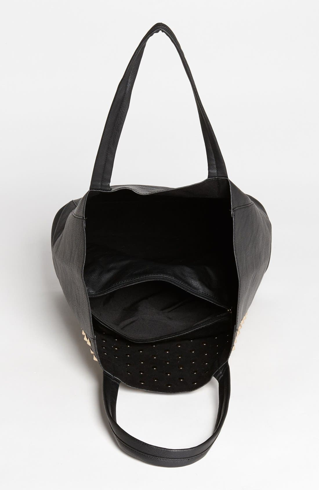 Alternate Image 3  - BP. Studded Faux Leather Tote