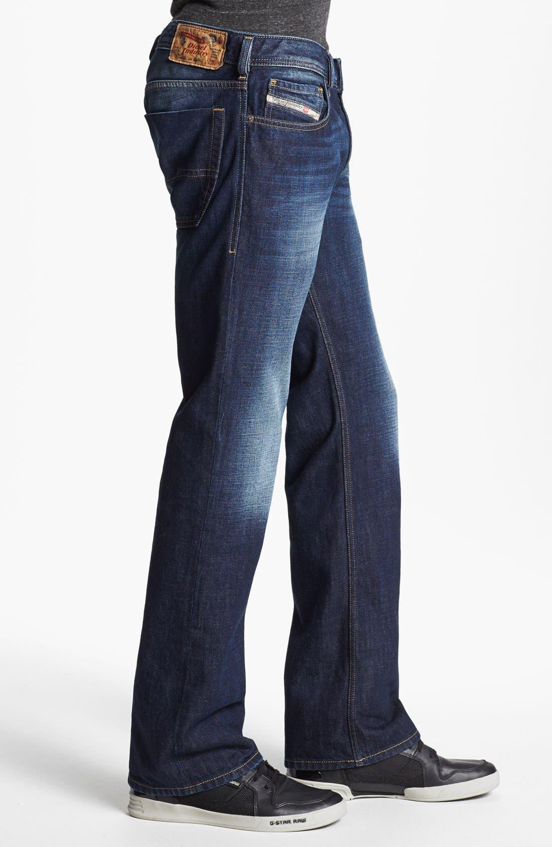 Alternate Image 3  - DIESEL® 'Zatiny' Bootcut Jeans (074W)