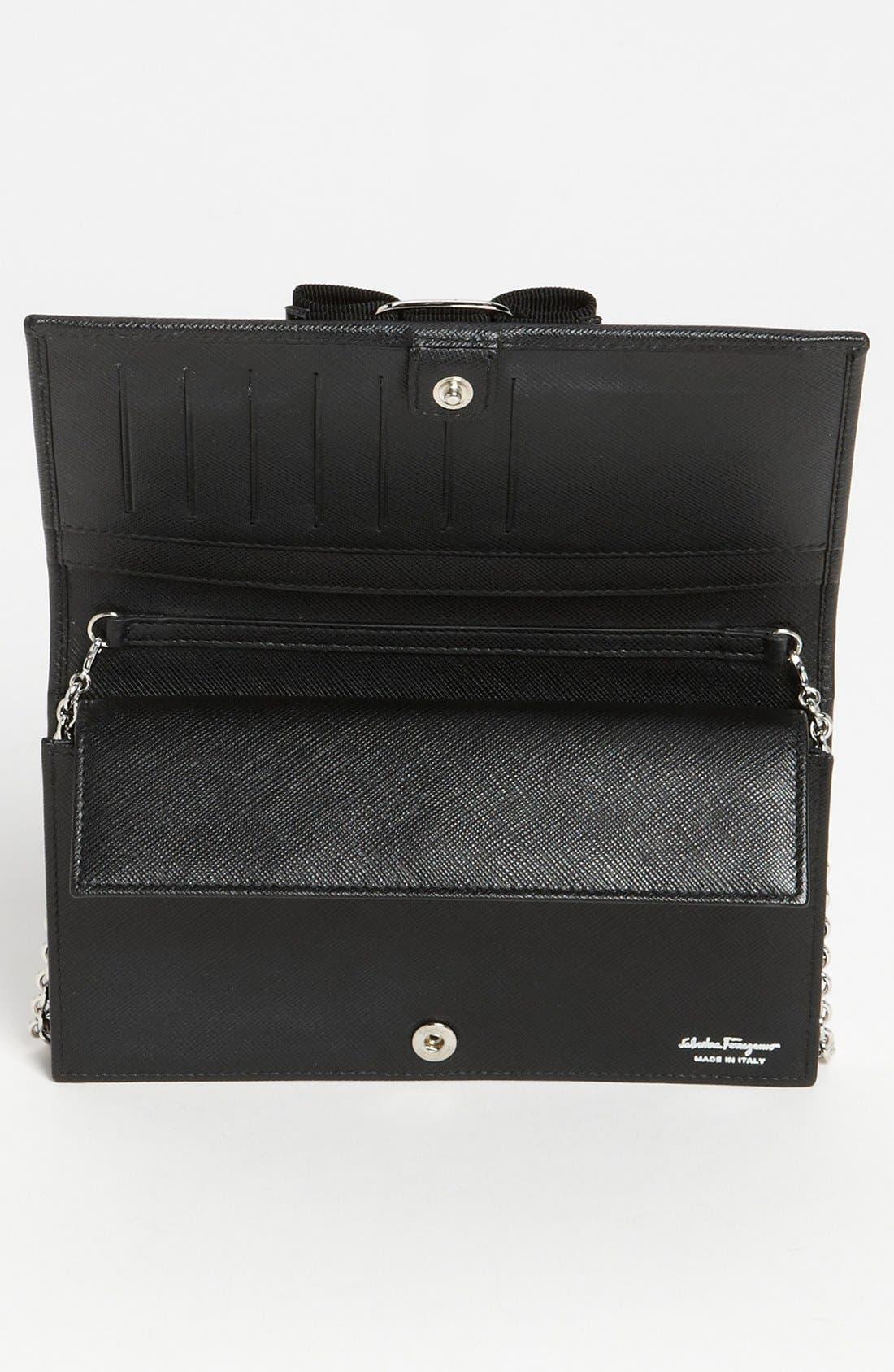 Alternate Image 3  - Salvatore Ferragamo 'Miss Vara' Clutch Wallet