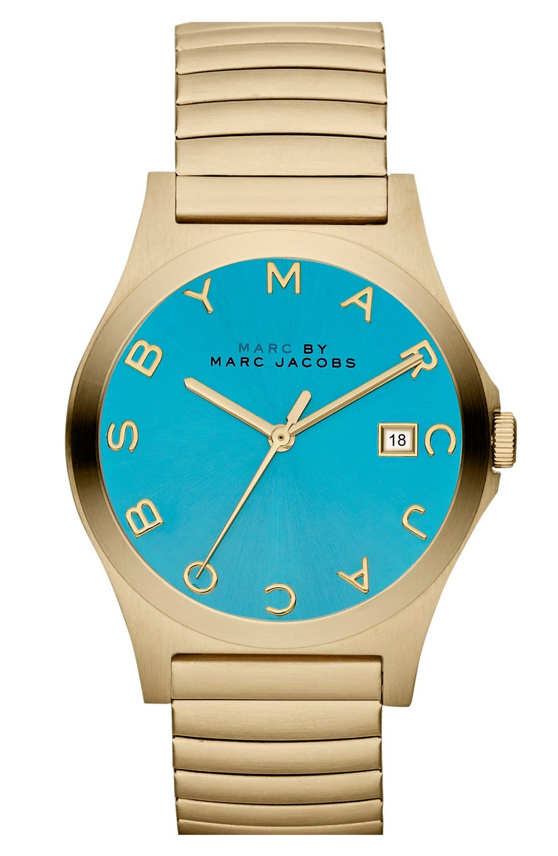 Main Image - MARC BY MARC JACOBS 'Henry' Stretchy Bracelet Watch