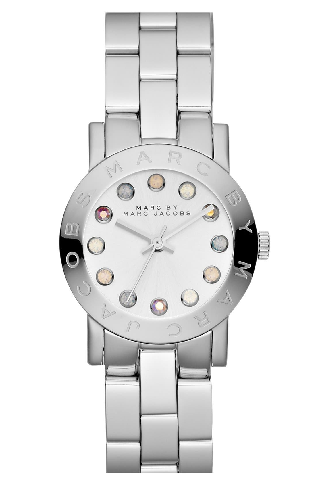 Alternate Image 1 Selected - MARC JACOBS 'Small Amy' Bracelet Watch, 26mm