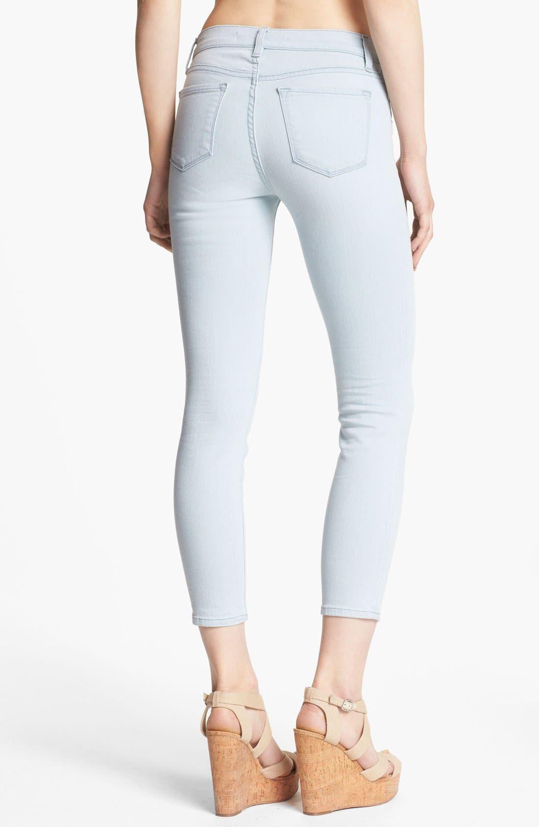 Alternate Image 2  - J Brand Cropped Skinny Pants (Solana)
