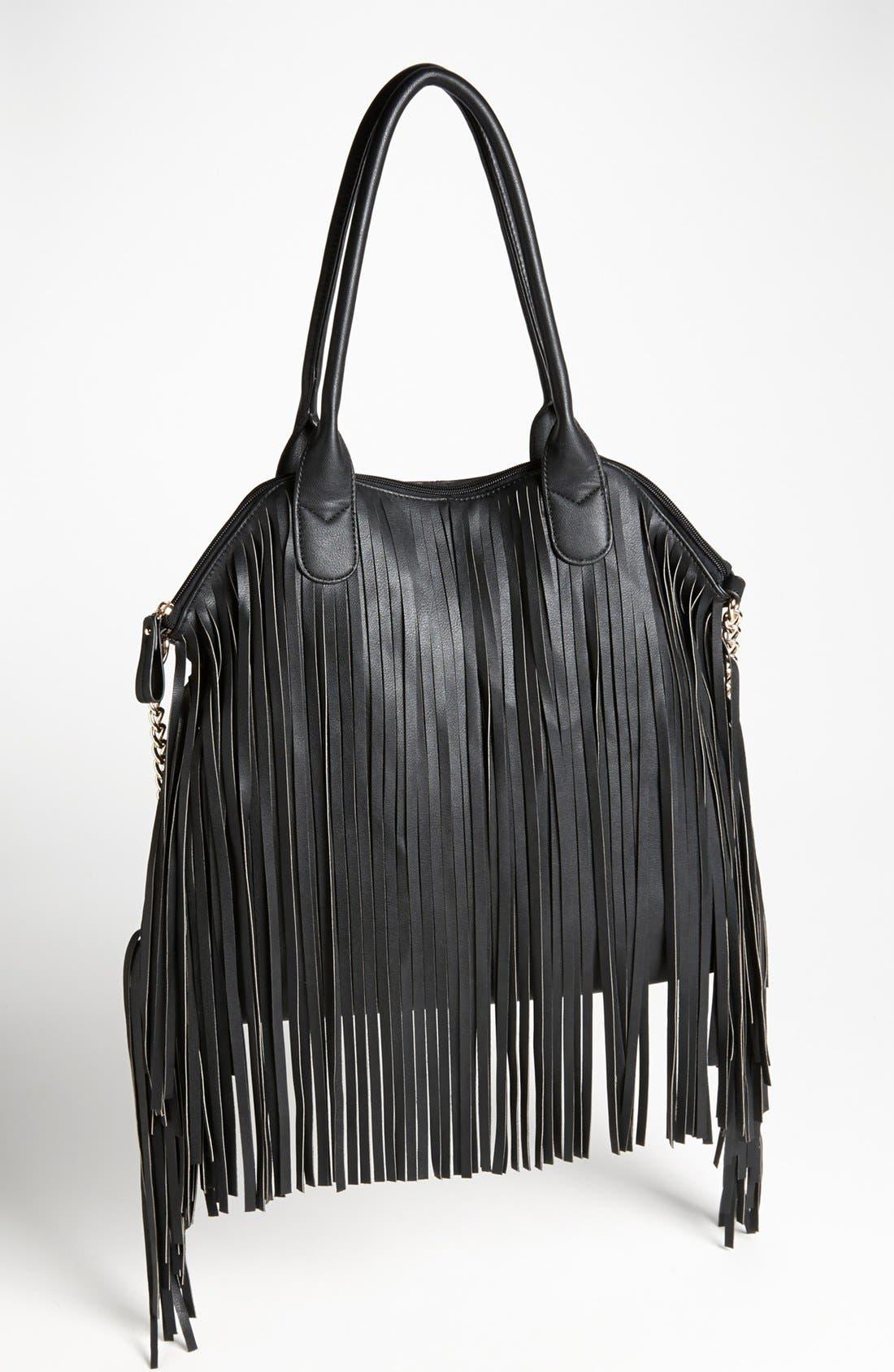 Alternate Image 1 Selected - Emperia Fringe Shoulder Bag, Large
