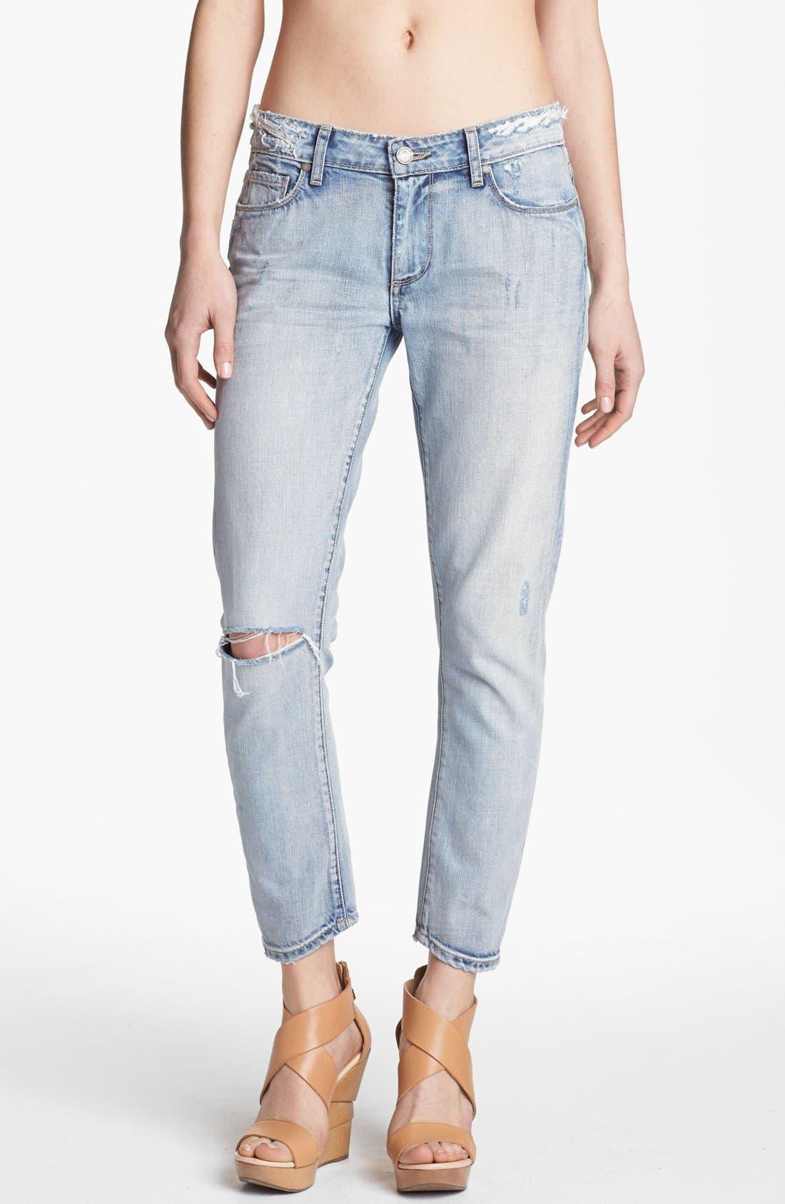 Alternate Image 1 Selected - Paige Denim 'Lydia' Crop Jeans (Pilot)