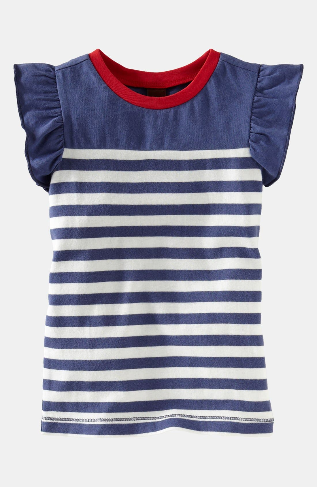 Alternate Image 1 Selected - Tea Collection 'Coastal' Tee (Little Girls & Big Girls)