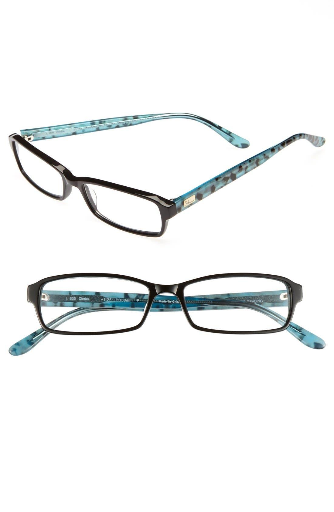 Alternate Image 1 Selected - I Line Eyewear 'Cindra' 52mm Reading Glasses (2 for $88)