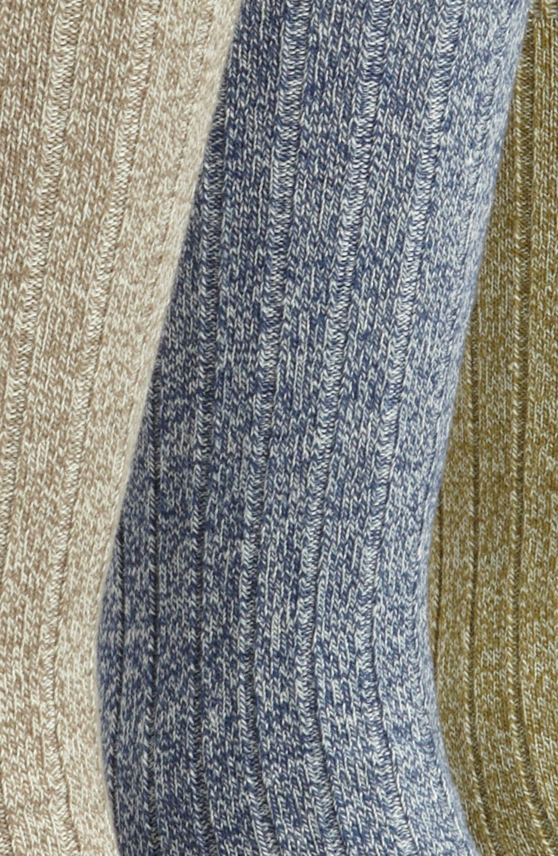 Alternate Image 2  - Topman Marled Socks (3-Pack)
