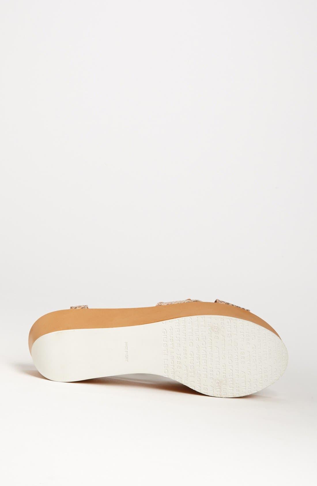 Alternate Image 4  - Attilio Giusti Leombruni 'Rocker' Sandal