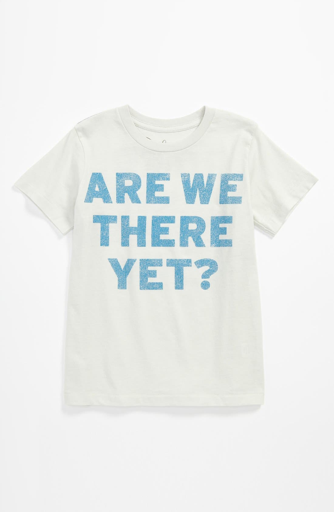 'Road Trip' T-Shirt,                             Main thumbnail 1, color,                             Light Blue