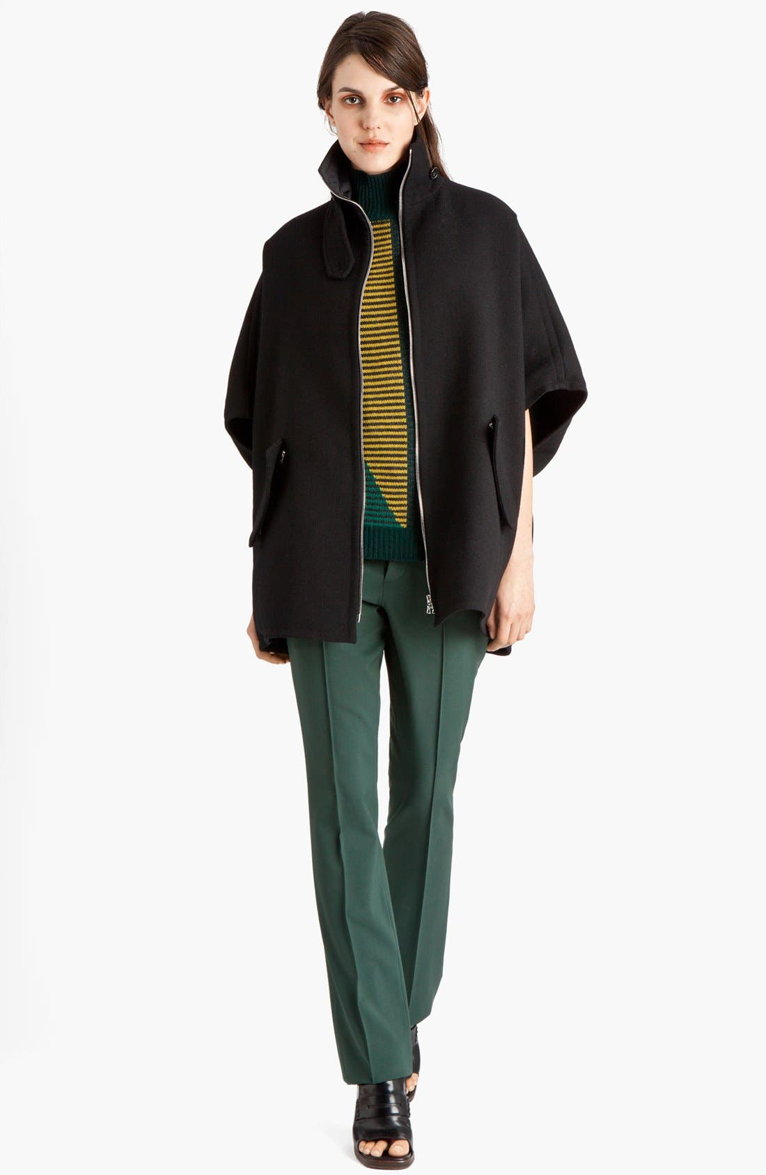 Alternate Image 3  - Marni Narrow Leg Stretch Wool Pants