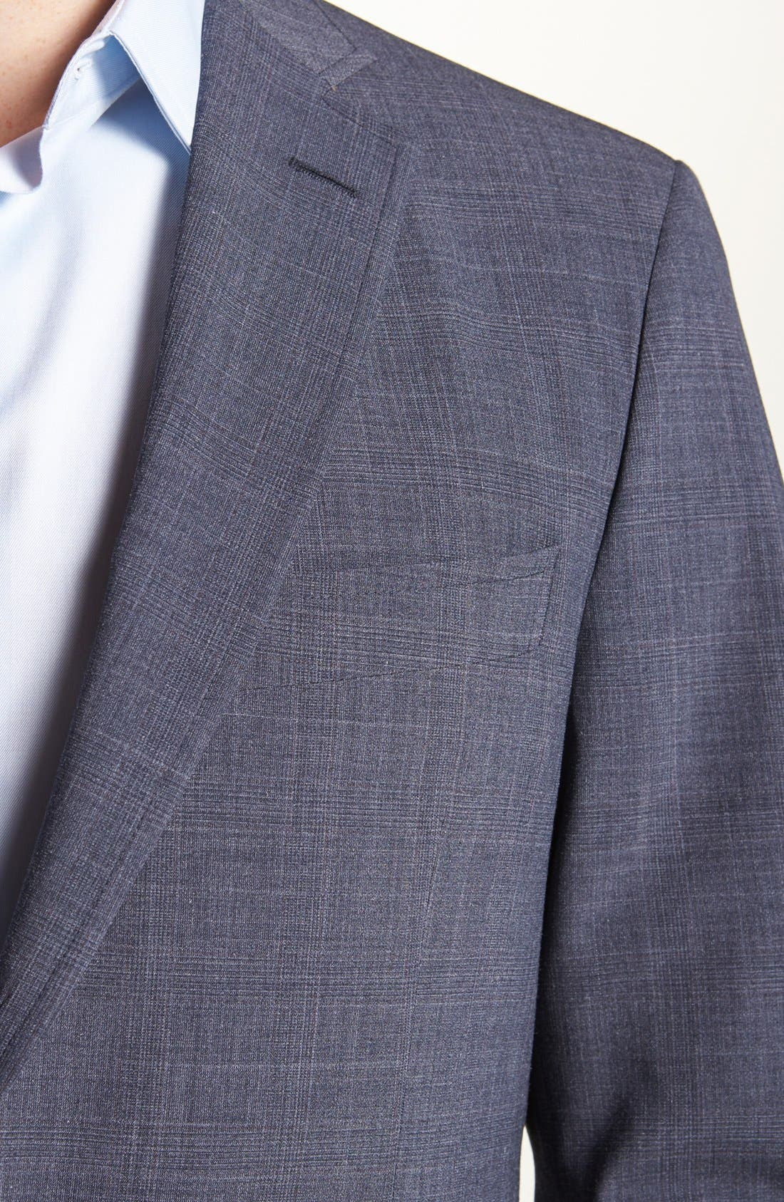 Alternate Image 5  - Billy Reid 'Campbell' Glen Plaid Wool Suit