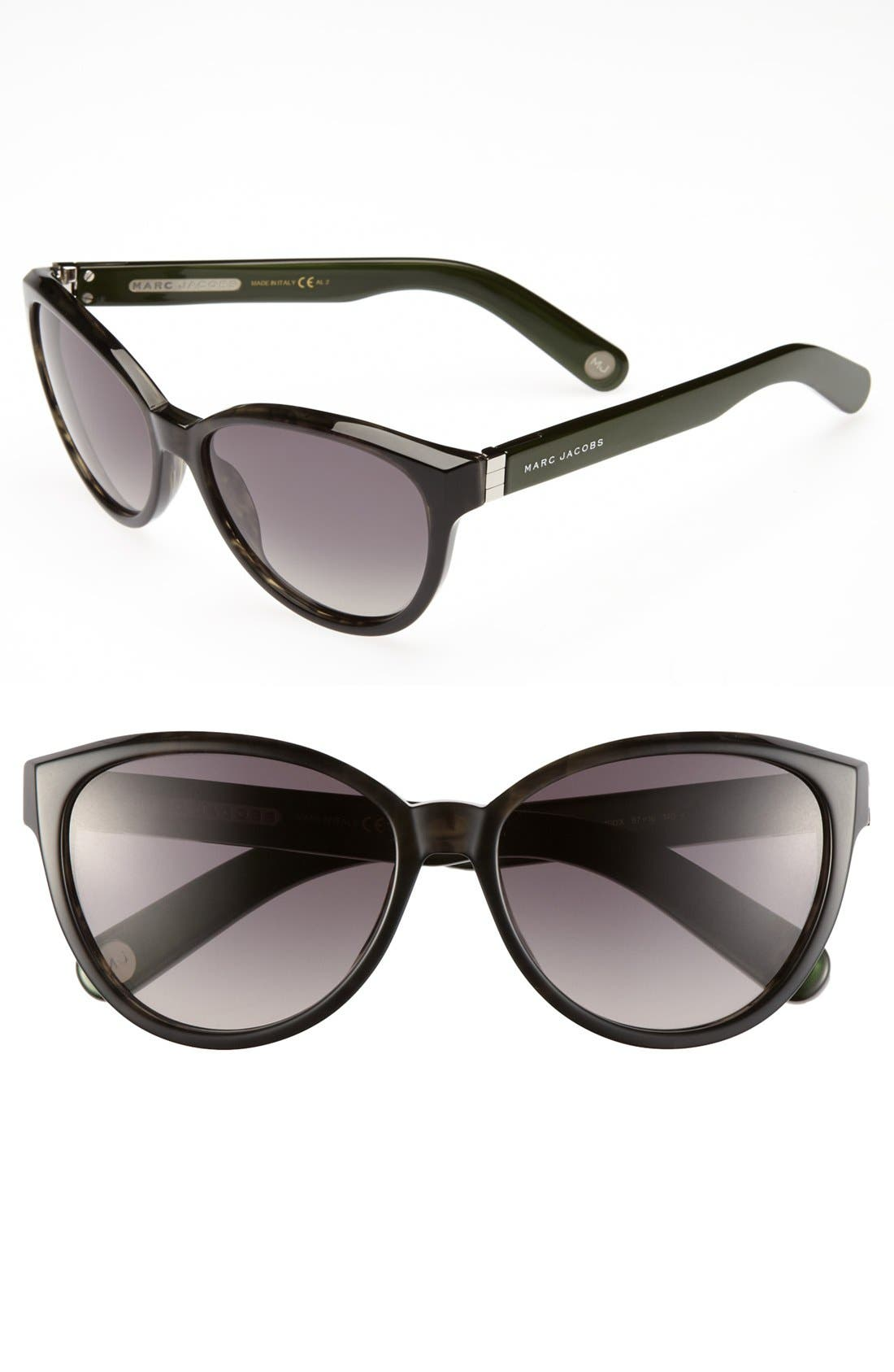 Main Image - MARC JACOBS 57mm Retro Sunglasses