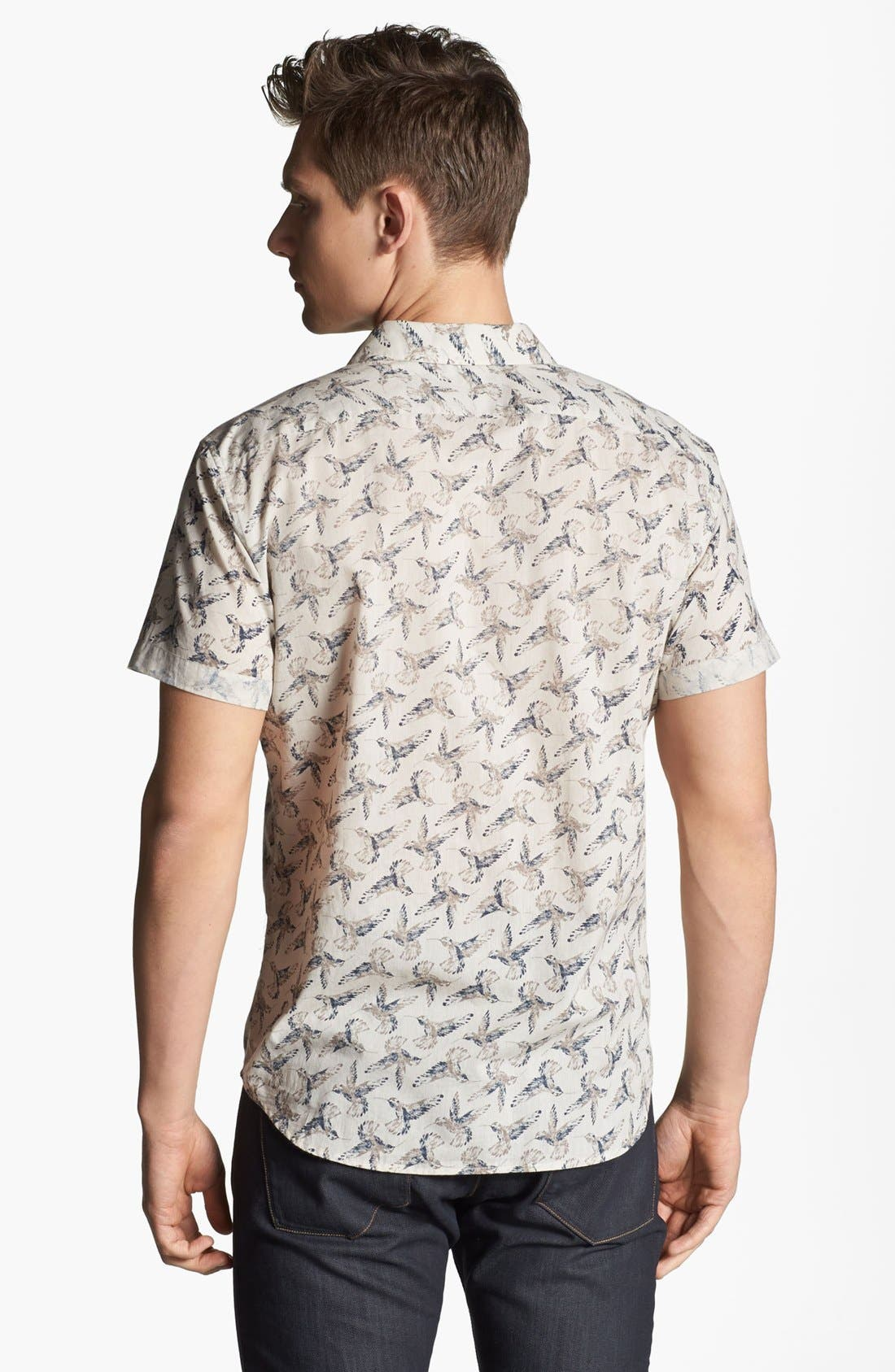 Alternate Image 2  - Theory 'Ludwyk' Short Sleeve Sport Shirt