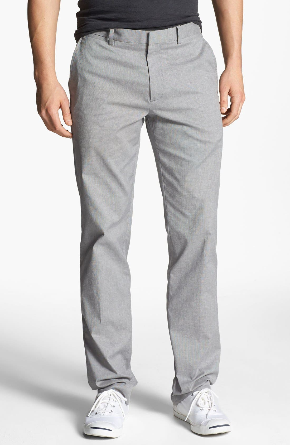 Alternate Image 1 Selected - Theory 'Marlo Diria' Slim Fit Pants