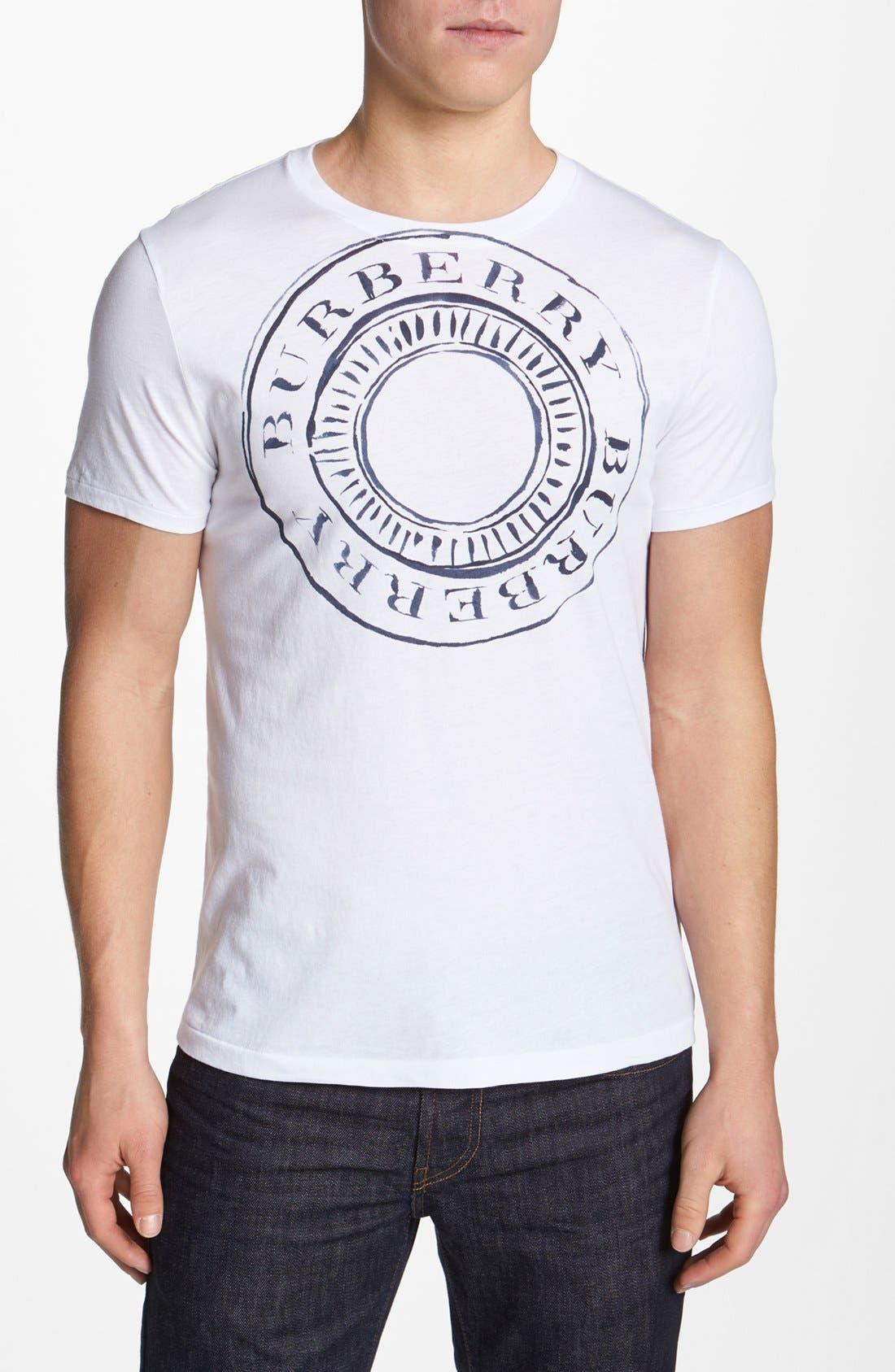 Alternate Image 1 Selected - Burberry Brit 'Jordan' T-Shirt