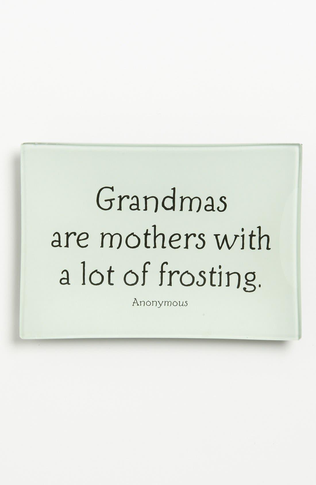 Alternate Image 1 Selected - Ben's Garden 'Grandmas Are Mothers' Trinket Tray