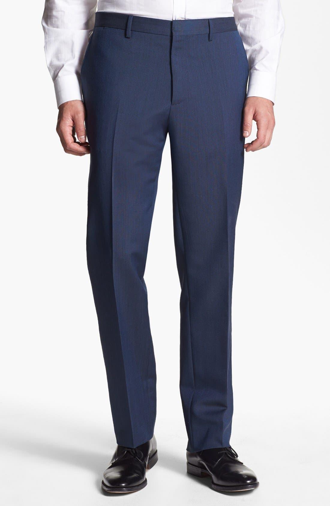 Alternate Image 5  - Burberry London Wool & Mohair Suit