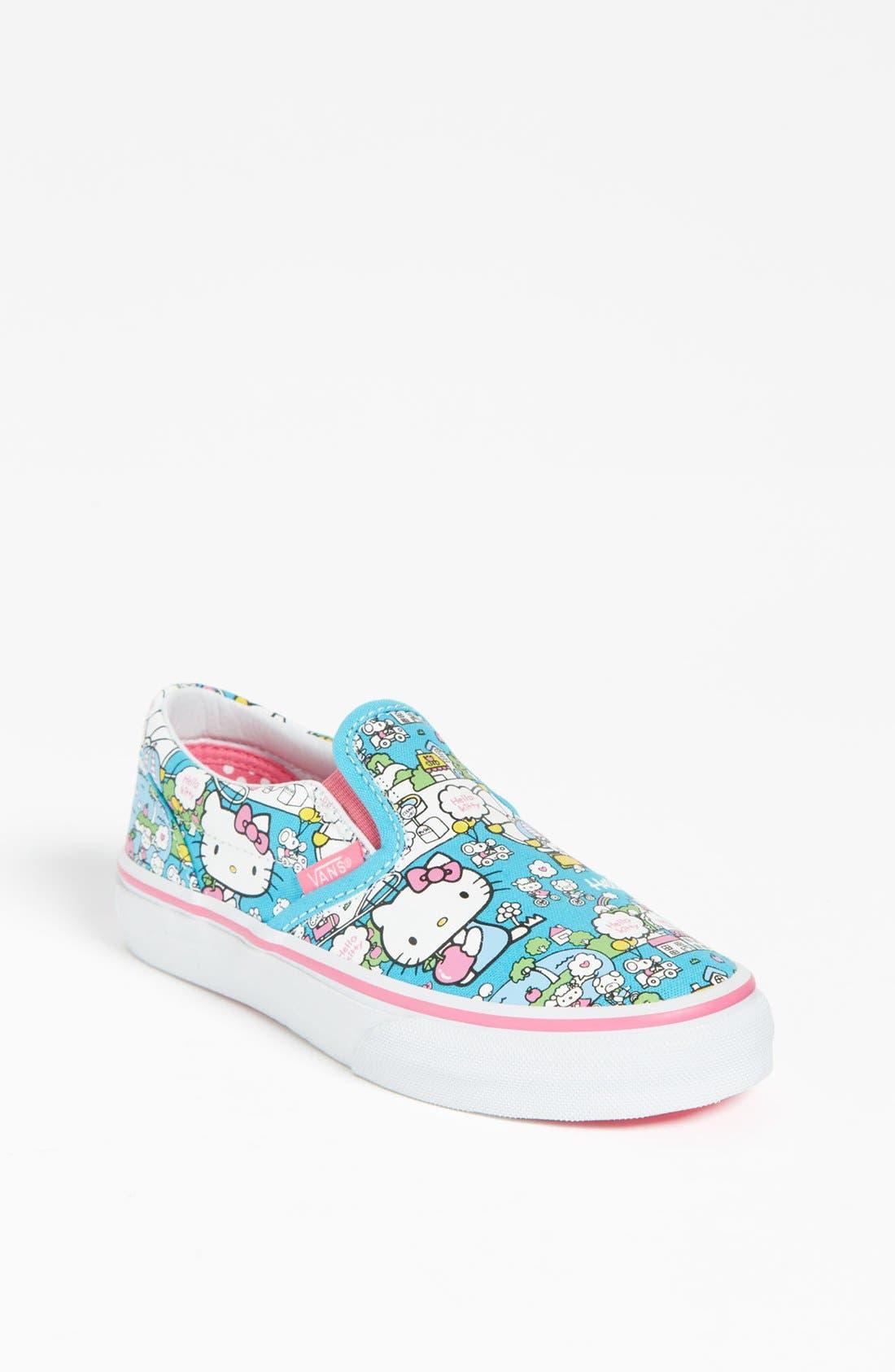 Alternate Image 1 Selected - Vans 'Hello Kitty®' Classic Slip-On (Toddler, Little Kid & Big Kid)