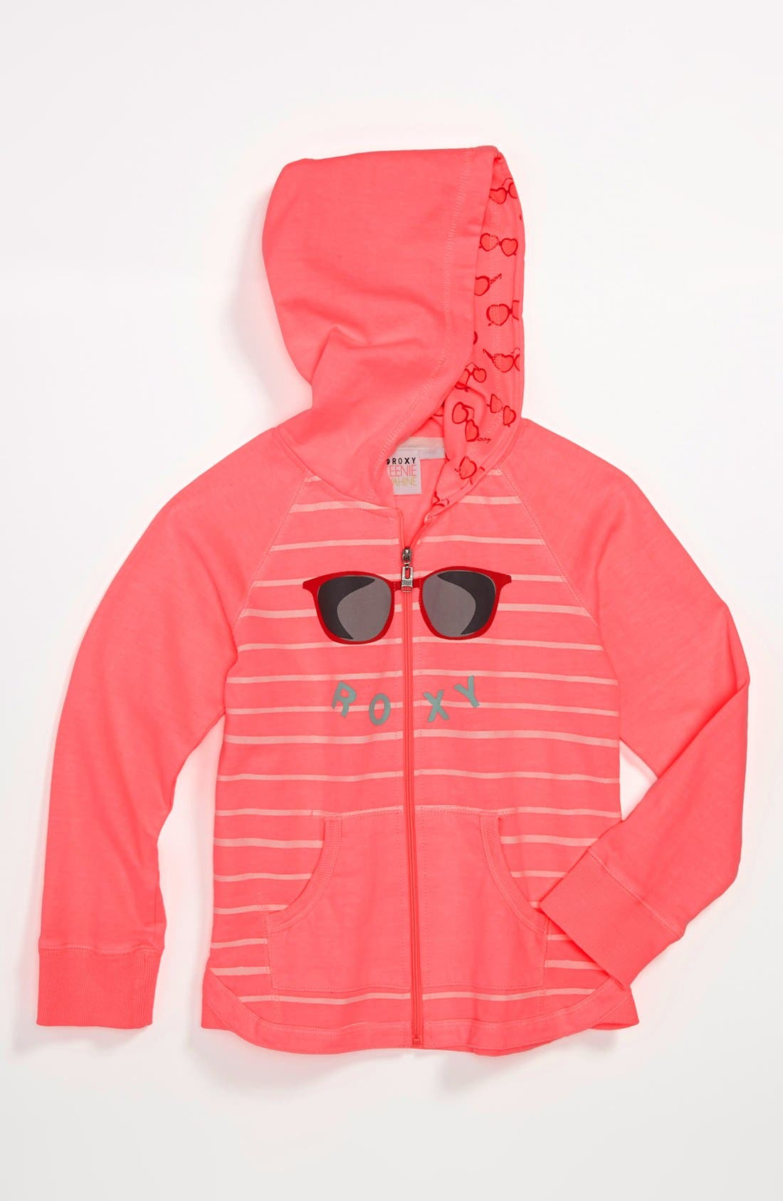 Alternate Image 1 Selected - 'Beach Air' Hoodie (Little Girls)