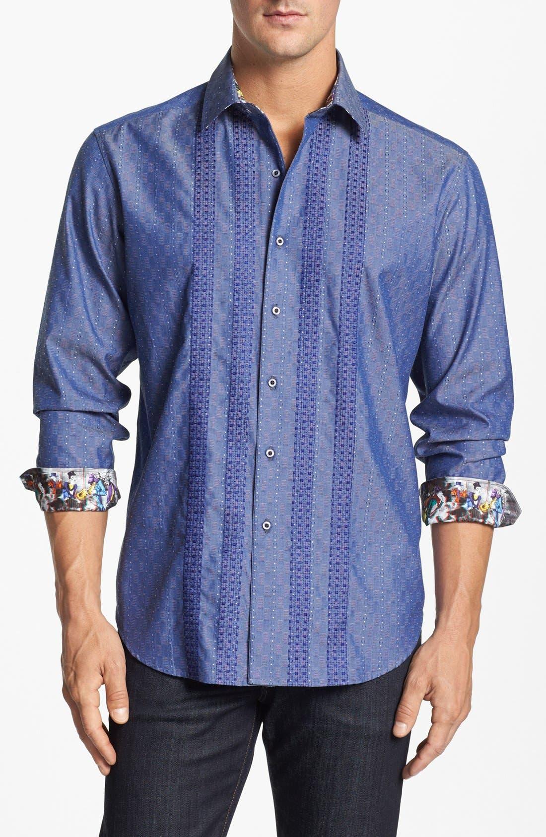Alternate Image 1 Selected - Robert Graham 'Chet' Regular Fit Sport Shirt