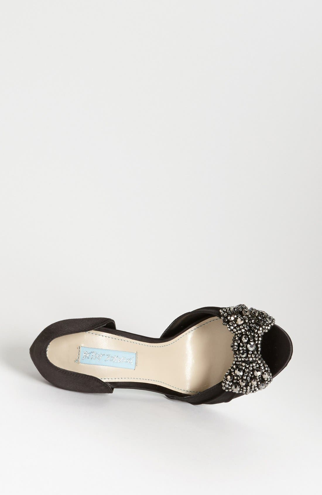 Alternate Image 3  - Blue by Betsey Johnson 'Gown' Sandal
