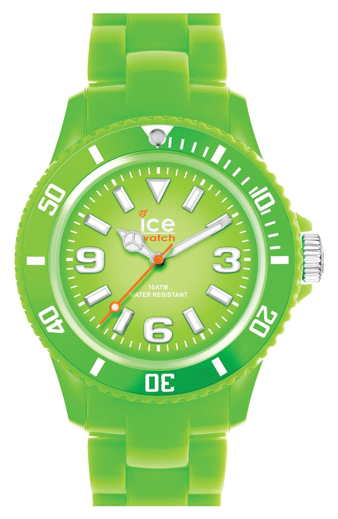 Main Image - ICE Watch Silicone Bracelet Watch, 43mm