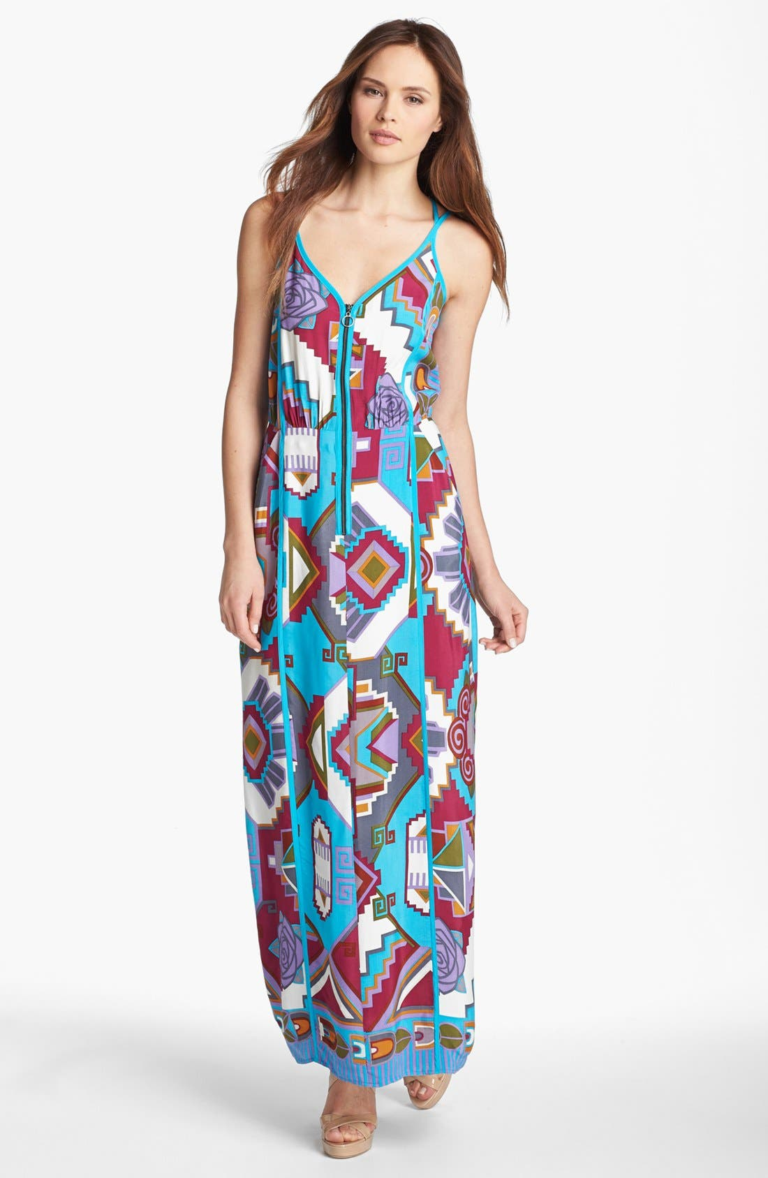 Alternate Image 1 Selected - Nanette Lepore Print Maxi Dress