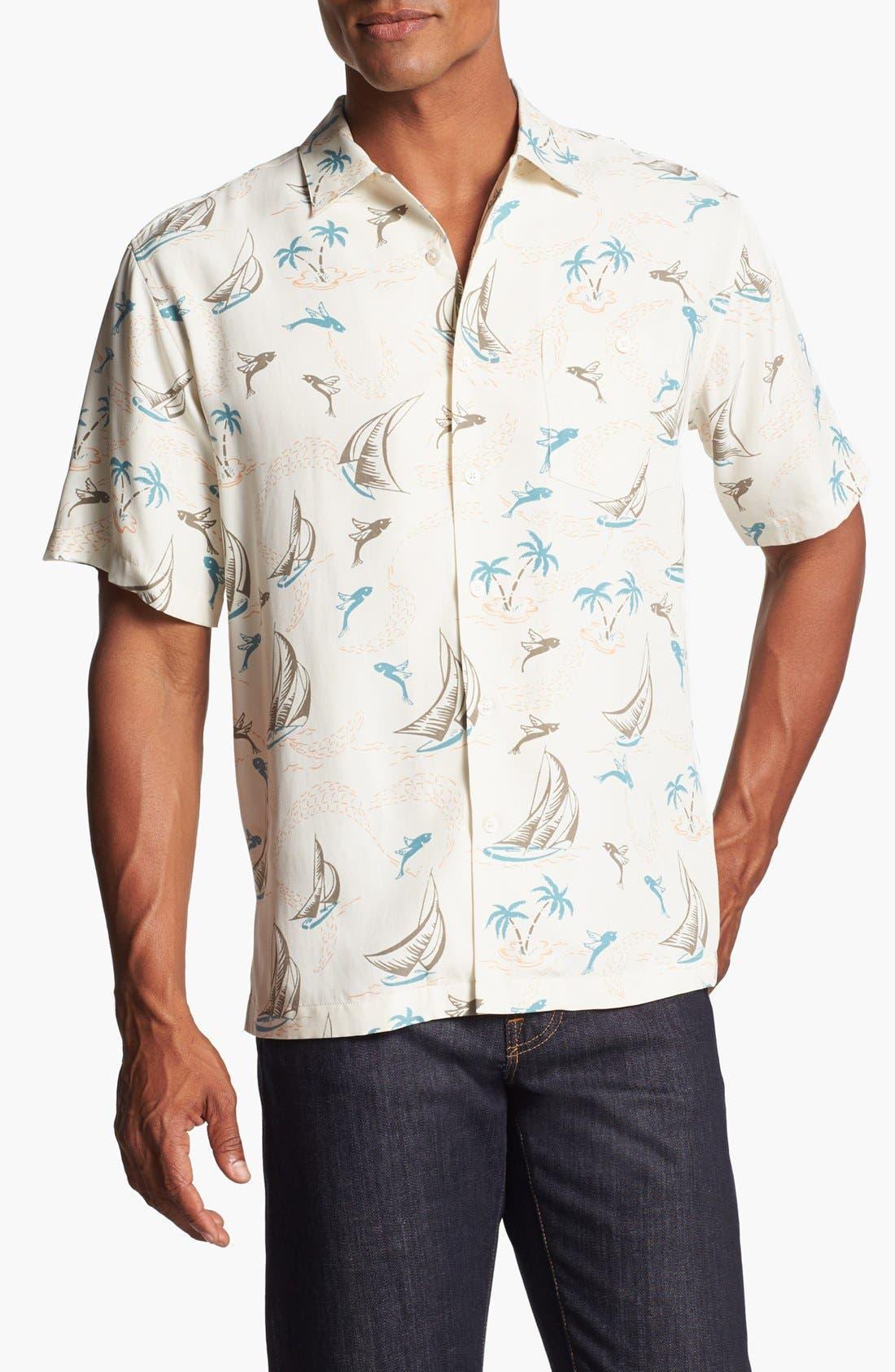 Alternate Image 1 Selected - Tori Richard 'Skipper' Short Sleeve Sport Shirt