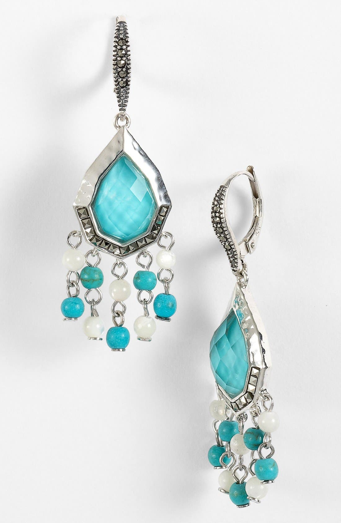 Alternate Image 1 Selected - Judith Jack Small Teardrop Chandelier Earrings