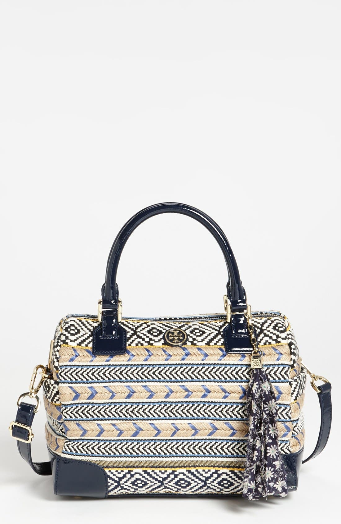 Main Image - Tory Burch 'Robinson -  Middy' Satchel