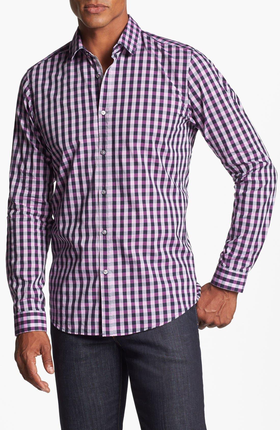 Alternate Image 1 Selected - BOSS HUGO BOSS 'Lorenzo' Regular Fit Sport Shirt