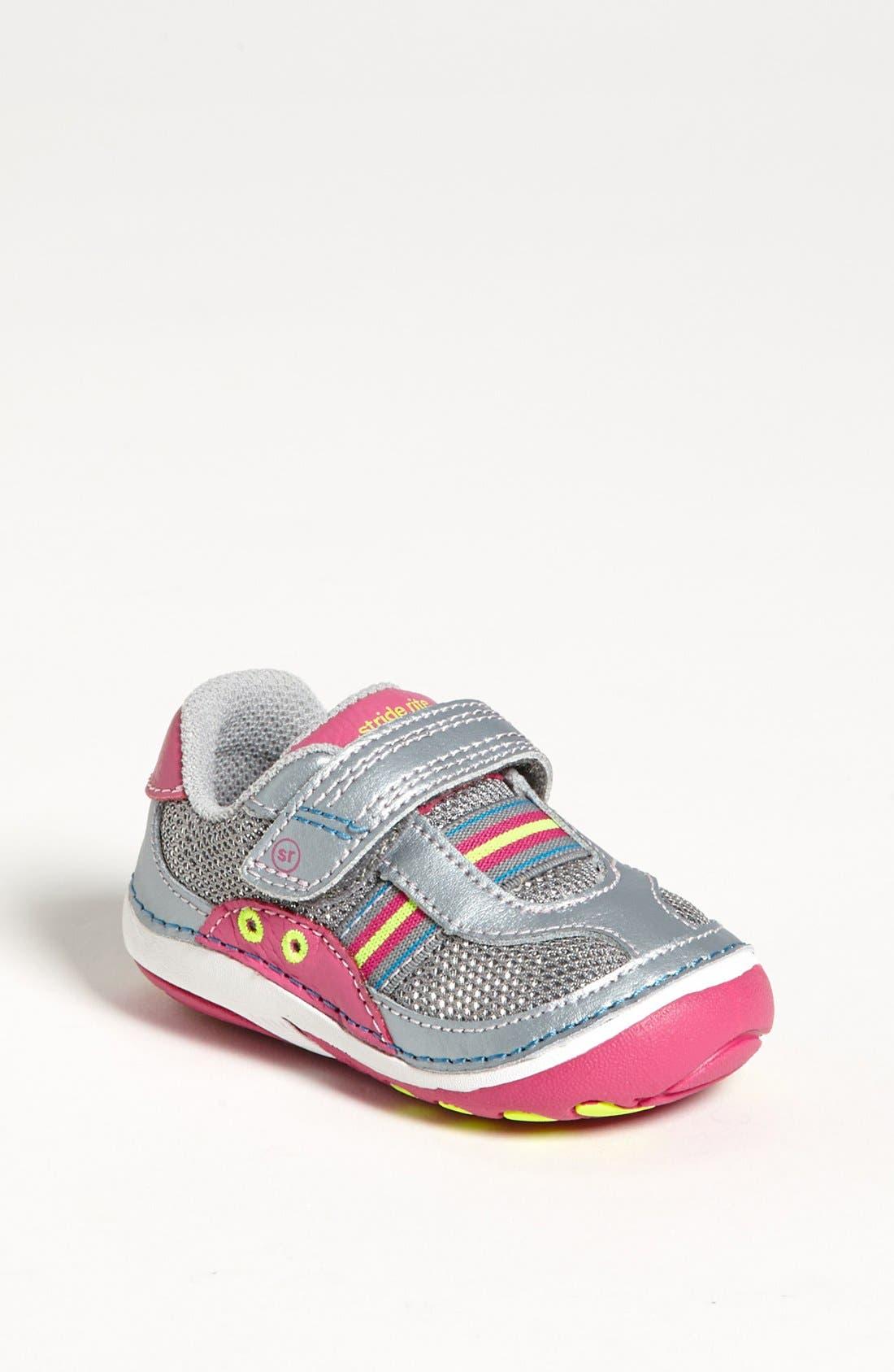Alternate Image 1 Selected - Stride Rite 'Aldrin' Sneaker (Baby & Walker)