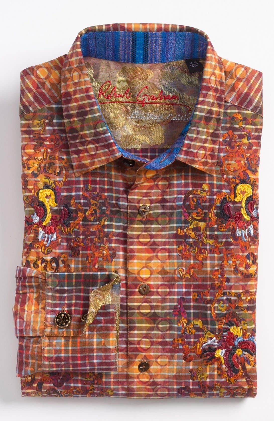 Alternate Image 2  - Robert Graham 'Felix' Sport Shirt (Limited Edition)